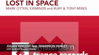 Julian Vincent & Shannon Hurley - Lost in Space (DoubleV remix) + Lyrics ASOT 553