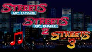 Streets of Rage Yuzo Koshiro MegaMix - DJ Yuzoboy