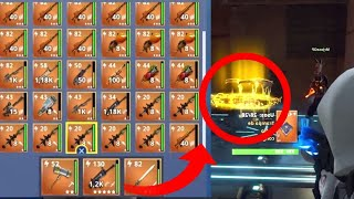 😱🔥 SREGAL *ALL YOUR INVENTORY * Fortnite Save the World + SWEEPSTAKE🔥😱