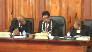 San Fernando City Corp. Statutory Meeting - June 24. 2014 Trinidad & Tobago