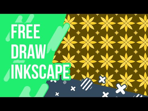 FREE DRAW WITH INKSCAPE #27 : BATIK PANTERN 2