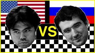 Hikaru Nakamura vs. Vladimir Kramnik - 2012 Chess Olympiad (Istanbul)