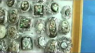 Costume Jewelry Rings Seashells Paua Shells Abalone Shells Wholesalesarong.com
