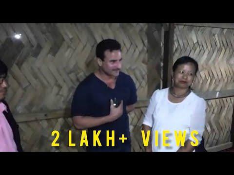 Saif Ali khan in Arunachal pradesh for shooting 'Rangoon'