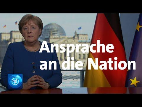Coronavirus: TV-Ansprache von Kanzlerin Merkel