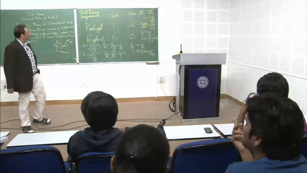 Mod-01 Lec-27 Lecture-27International Economics
