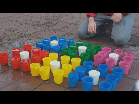 Cup Song With 54 Cups QWERTYUIOP POIUYTREWQ #CUPS