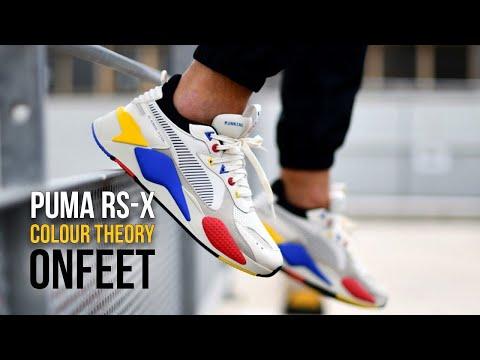 Onfeet Puma RS-X Colour Theory (370920