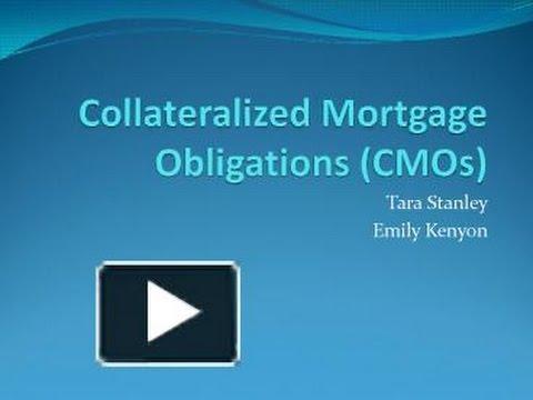 Collateralized mortgage obligation (CMO) [Video Investopedia]