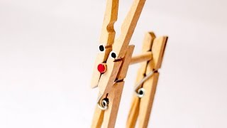 Make A Cute Clothespin Reindeer - Diy Crafts - Guidecentral