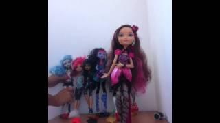 Сравнение Monster High с Ever after High.