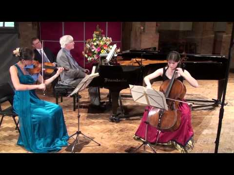 The Grier Trio play Brahms Piano Trio in B major Op 8
