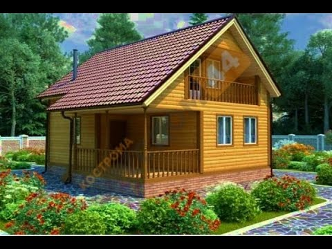Дом из бруса в Костроме.