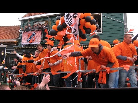FC Volendam kampioen Eerste Divisie, kampioensfeest 2008, Promotie,  video en foto's