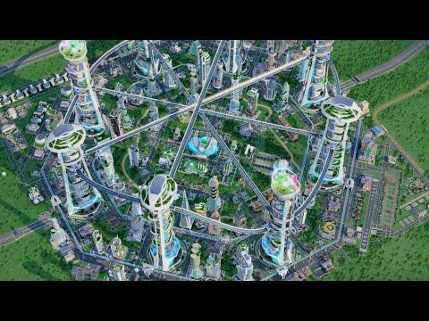 Sim city #22 - The city of future