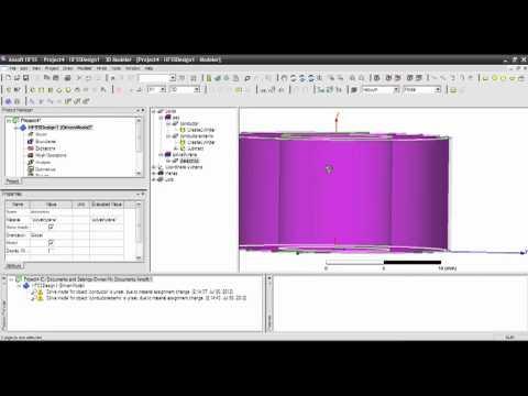 tutorial 1 HFSS