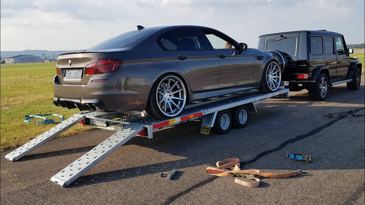 Straight-Piped 720-HP BMW M5 Sounds Like A Tractor, In A