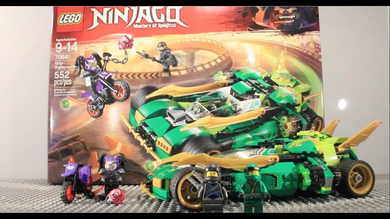 Lego Ninjago Ninja Nightcrawler Review 70641 Youtube
