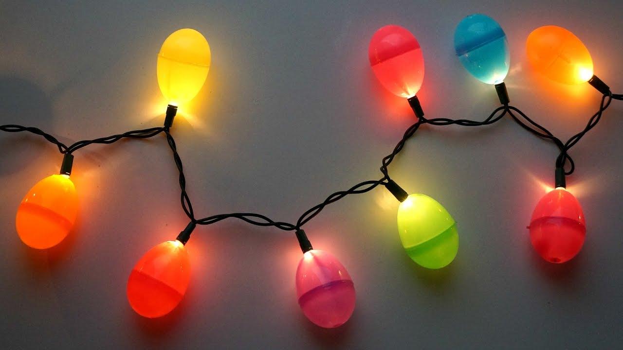 diy easter egg string lights youtube. Black Bedroom Furniture Sets. Home Design Ideas