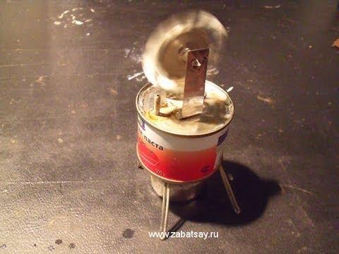 Самодельная паровая турбина (Homemade Steam Turbine)