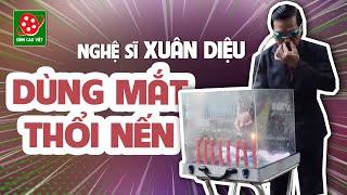 Kỷ lục Guinness Việt Nam I Dị nhân Xuân Diệu dùng mắt phóng phi tiêu và thổi nến - Full HD