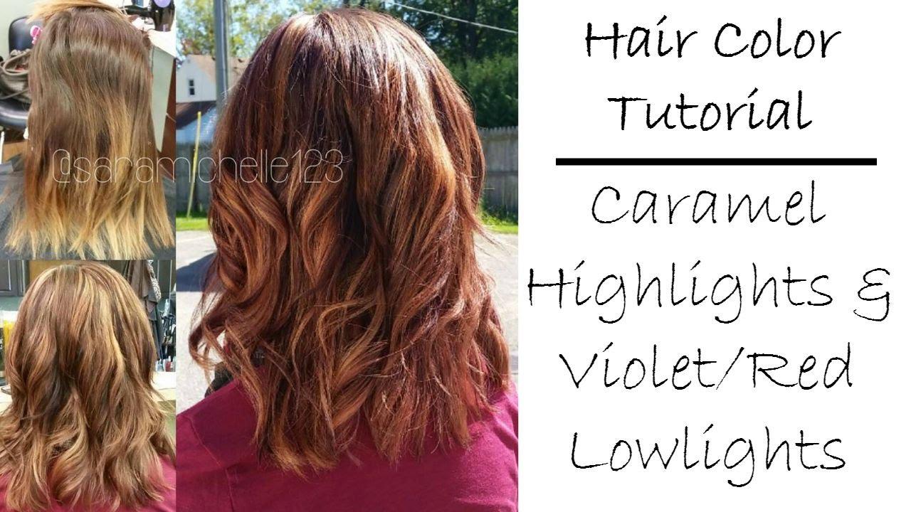 fall hair color tutorial
