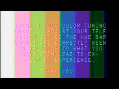 Color Bar Experience