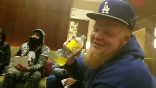 hilarious night before bl4 with glueazy nu jerzey twork danny myers and chef trez