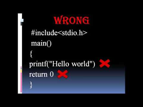 5 key point about C programming language!!! Everybody must know this 5 step!!!