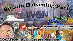 2020 Bitcoin Halvening Party #LIVE (Bitcoin Halving)