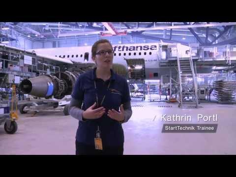 StartTechnik Trainees und ihre Erfahrungen bei Lufthansa Technik