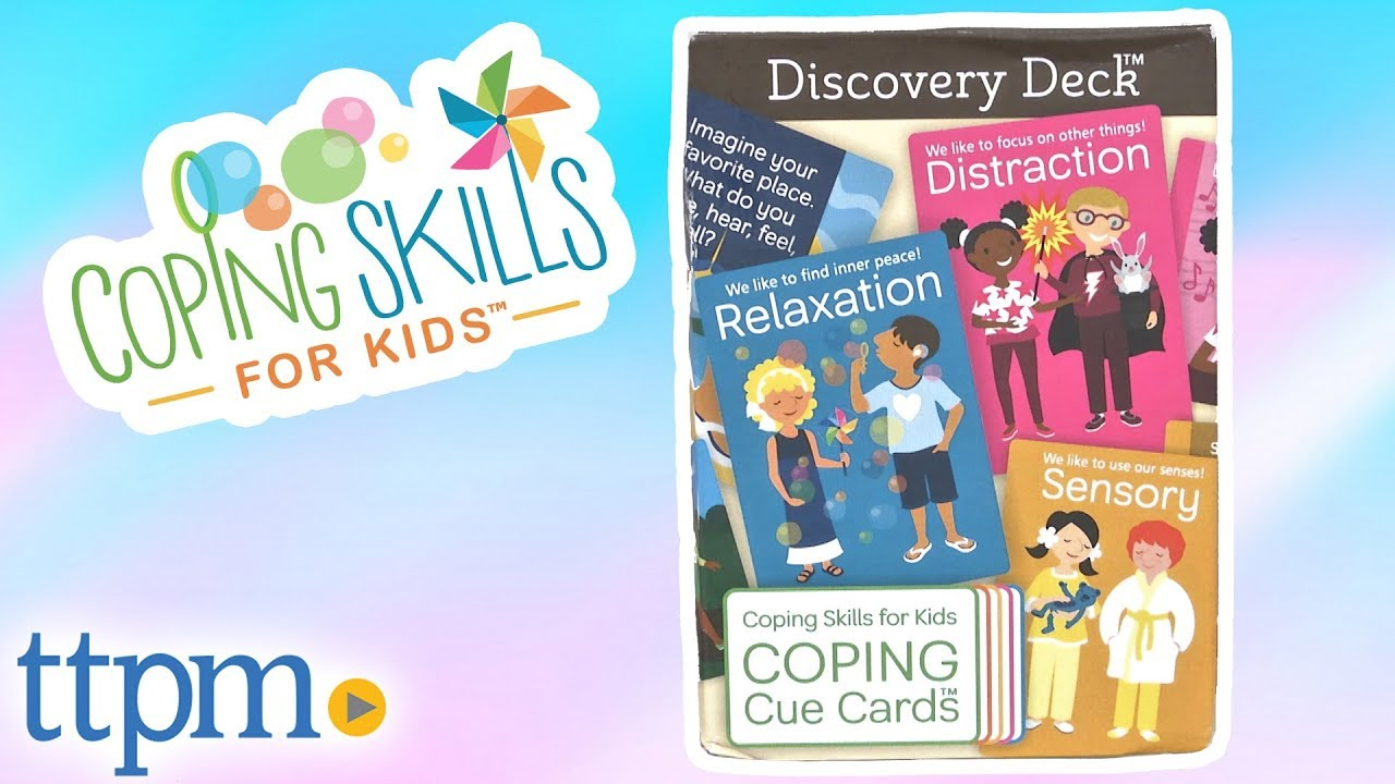 Coping Cue Cards — Coping Skills for Kids
