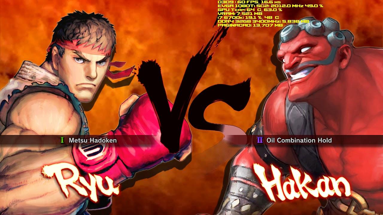 Super Street Fighter IV [8K] [EVGA 1080 Ti SC2 Gaming]