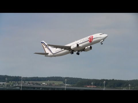 The Rolling Stones boarding and take off runway 16 at ZRH