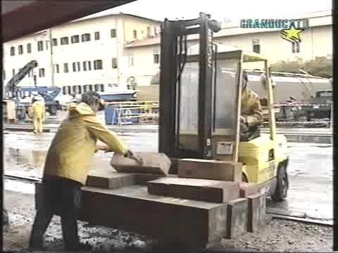 """Cantiere Navale Fratelli Orlando. Varo della  nave """"Isola Atlantica"""", Livorno 19 giugno 1999"""