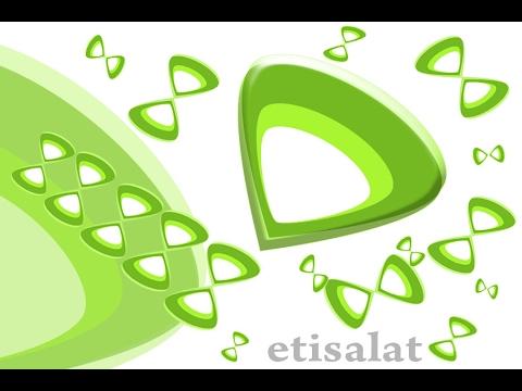 making etisalat logo in adobe photoshop youtube