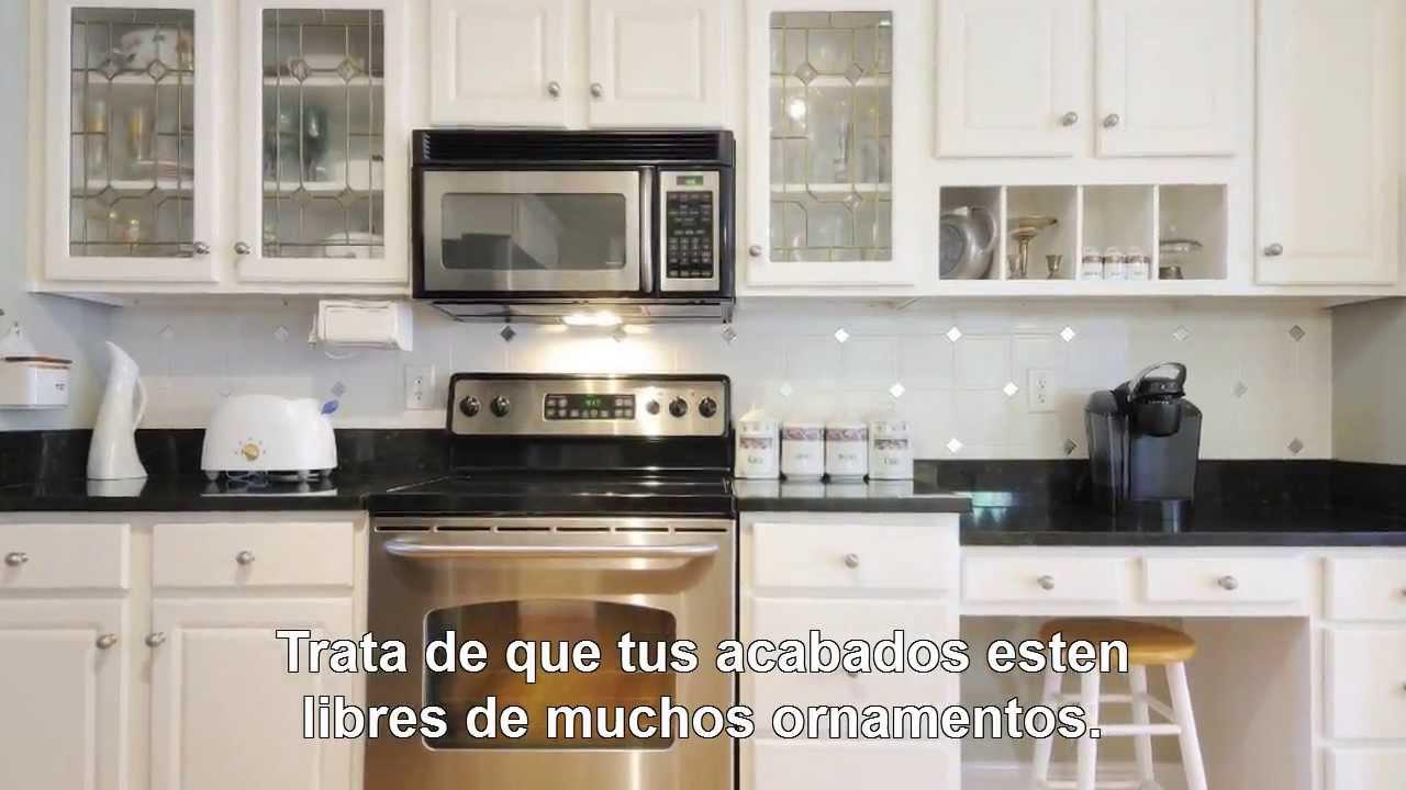 C mo decorar una cocina peque a aprende ahora mismo for Como amueblar una cocina
