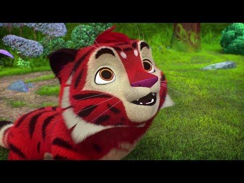 Тигр и лео мультфильм