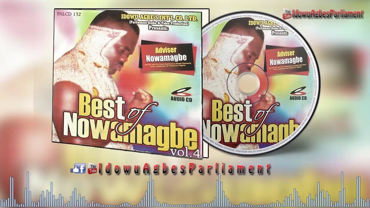 Download Best of Adviser Nowamagbe Vol 4 - Benin Music Mix