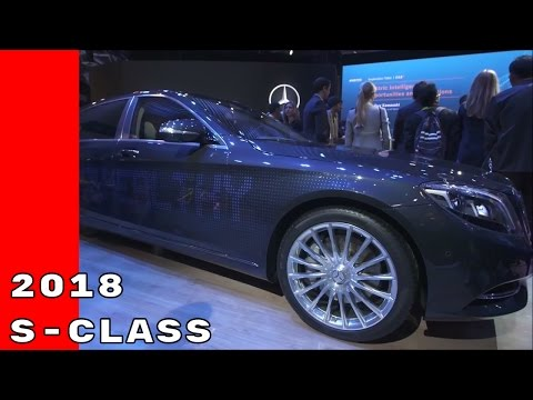 2018 Mercedes S Class Features & Automated Driving At CES 2017
