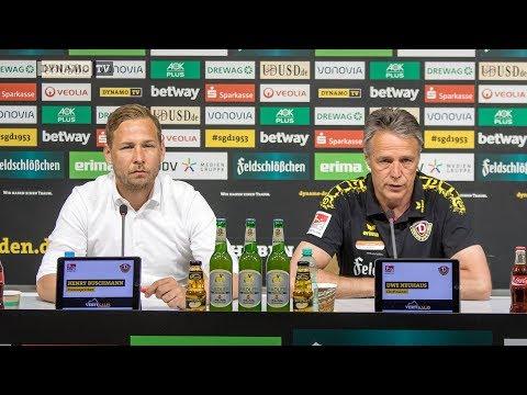 34. Spieltag | SGD - FCU | Pressekonferenz vor dem Spiel