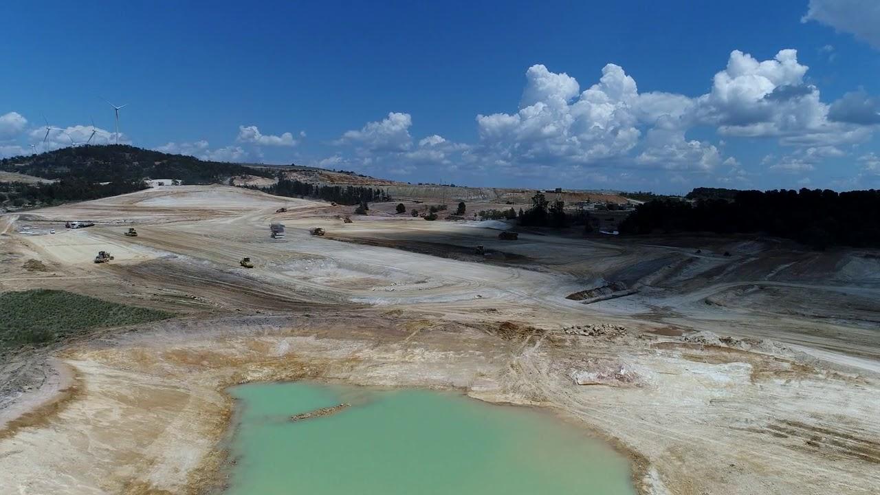 Woodlawn Mine Site Construction, November 2017