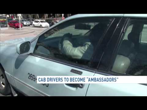 D.C. taxi drivers could train as 'ambassadors'