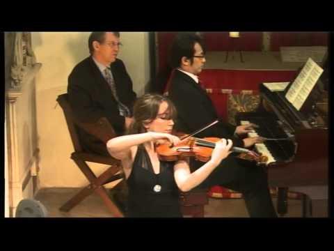 Sadie Fields (violin) & Tadashi Imai (piano) play Wieniawski's Polonaise Brillante in D