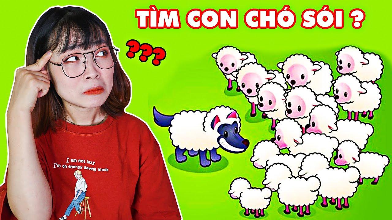 Giúp Hà Sam Tìm Chó Sói Ăn Thịt  Bảo Vệ Đàn Cừu Vui Vẻ – Draw One Part