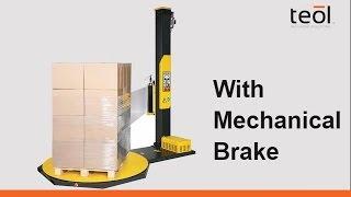 Video Semi automatic stretch film wrapper with mechanical brake OneWrap M download MP3, 3GP, MP4, WEBM, AVI, FLV Juli 2018
