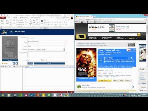 Movie Collection Database Demo