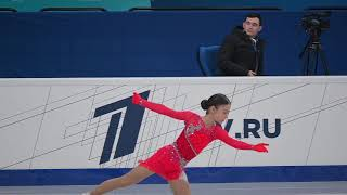 Аделия Петросян ПП Первенство 2021 Adelia Petrosian FP Junior Nationals 2021