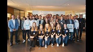 Sportlerwahl 2018 im Firmensitz von F&S
