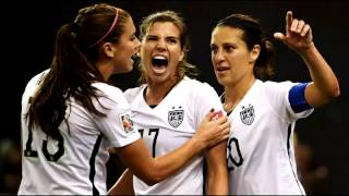 Alex Morgan, Tobin Heath and Kelley O'hara...